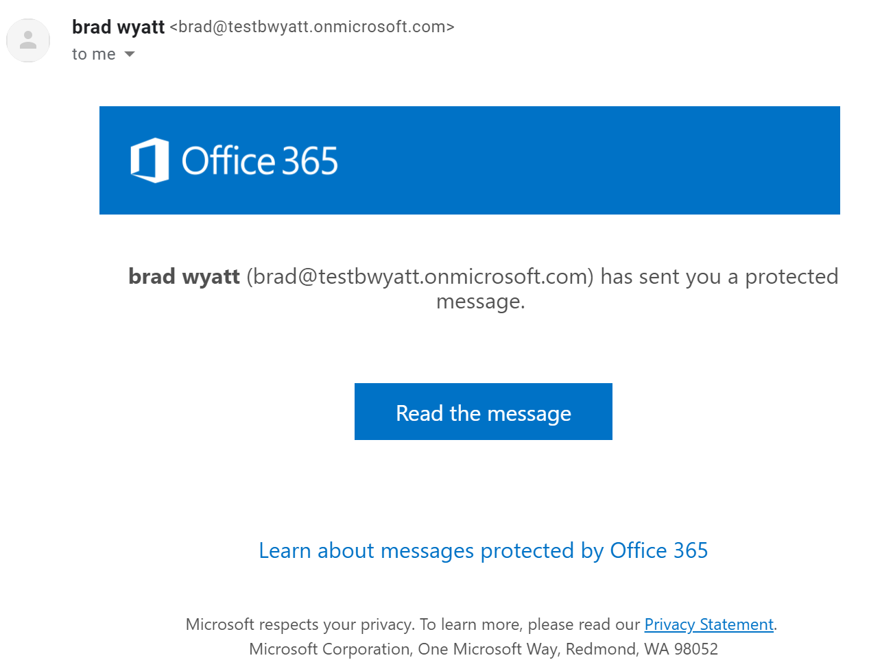 Customize your Office 365 Encrypted Messages with your Organizations