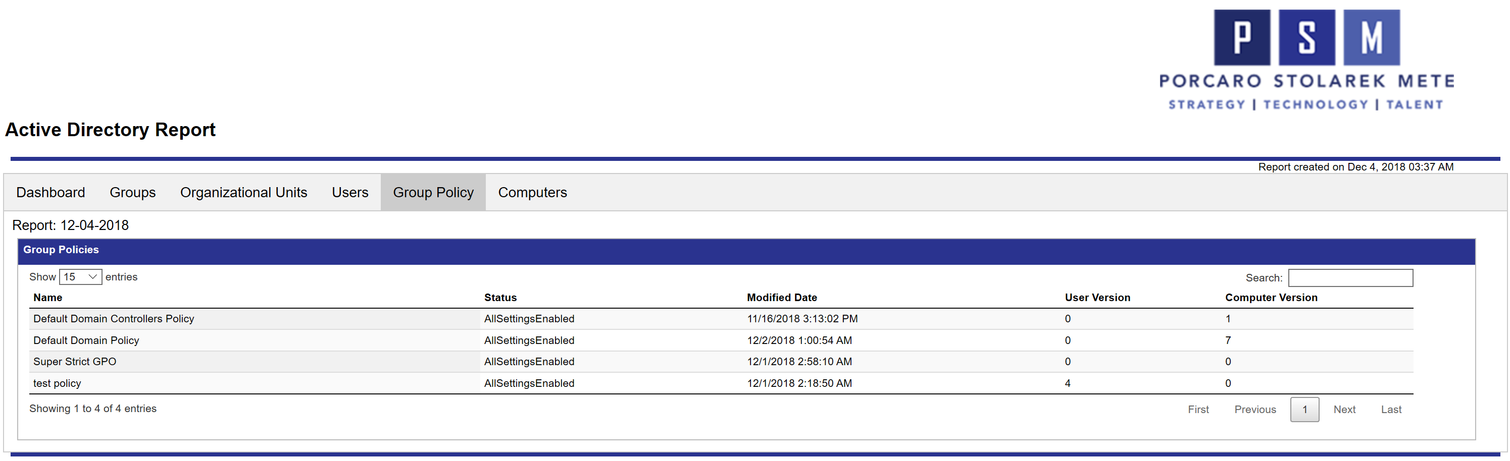 Create an Interactive Active Directory HTML Report With PowerShell