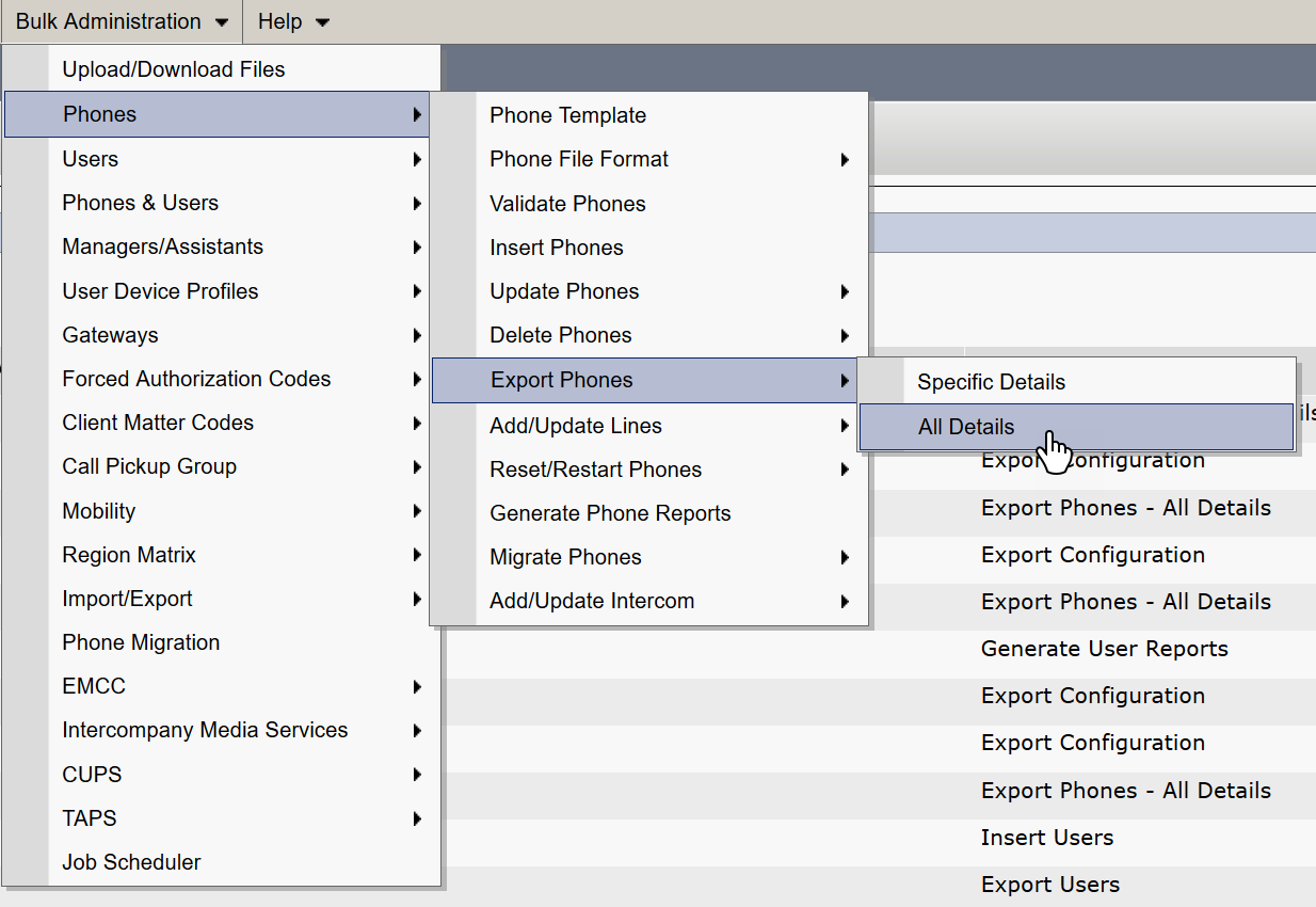 Find Un-Migrated Phone Numbers in Cisco Call Manager to Port
