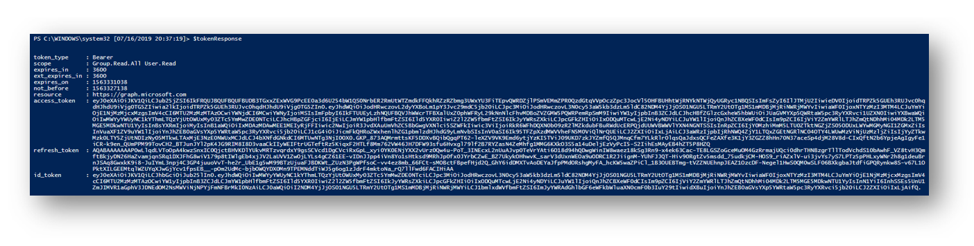 Connect and Navigate the Microsoft Graph API with PowerShell